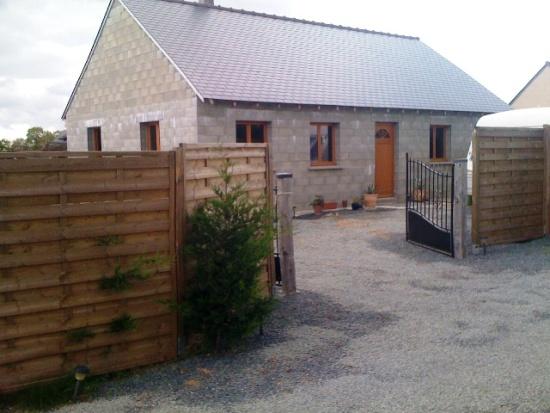 Terrain avec maison en cours de construction 22140 b gard bel air homes - Frais de notaire construction maison ...